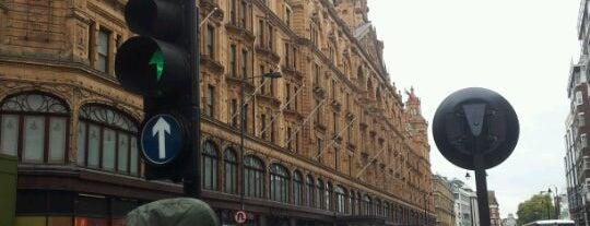 Harrods is one of London.