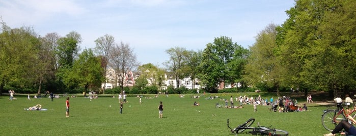 Innocentiapark is one of Best sport places in Hamburg.