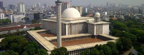 Masjid Istiqlal is one of Great Jakarta.