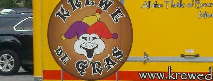 Krewe de Gras is one of Bars.
