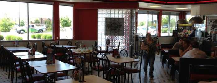Steak 'n Shake is one of Best Burger Places.