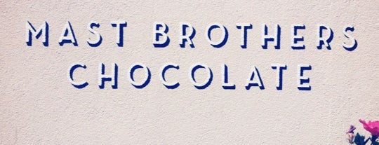 Mast Brothers Chocolate Factory is one of New York Highlights.