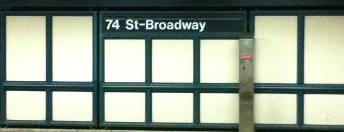 MTA Subway - 74th St/Roosevelt Ave/Jackson Hts (E/F/M/R/7) is one of MTA Subway - F Line.