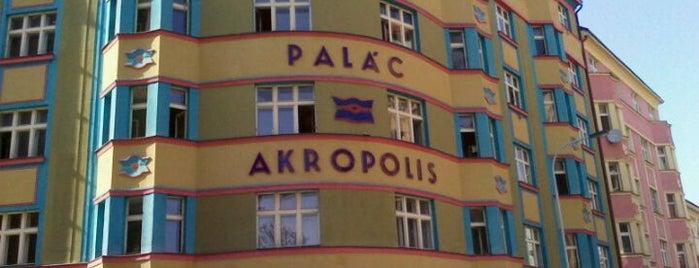Palác Akropolis is one of Žižkovský průvodce Restaurace Záležitost.