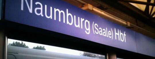 Naumburg (Saale) Hauptbahnhof is one of Bahnhöfe Deutschland.