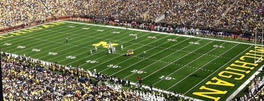 Michigan Stadium is one of Big Ten Tour.