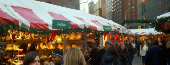 Union Square Holiday Market is one of Tourist Tips: Manhattan in a Day.
