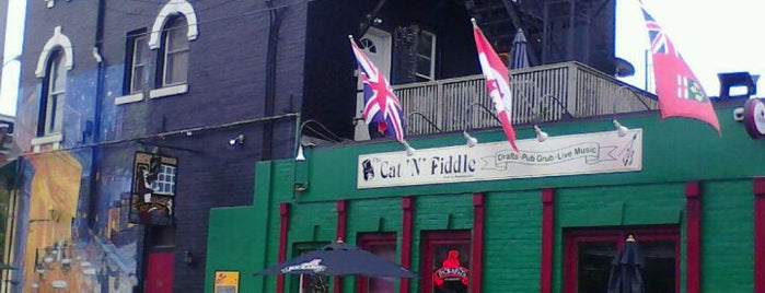 The Cat 'N' Fiddle is one of MLS Pubs in Toronto.