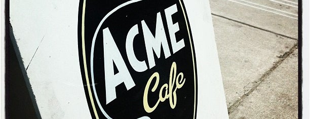 Acme Cafe is one of Vancouver to do list.