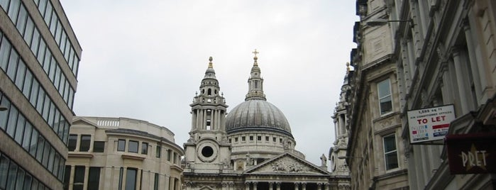 St Paul's Cathedral is one of London as a local.
