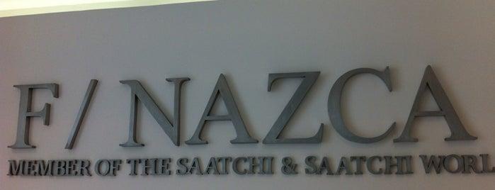 F/Nazca Saatchi & Saatchi is one of Agências.