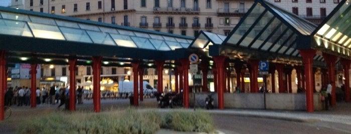 Piazzale Luigi Cadorna is one of Free Wi-Fi.
