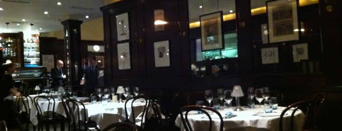 Galvin Bistrot de Luxe is one of Eat London 2.