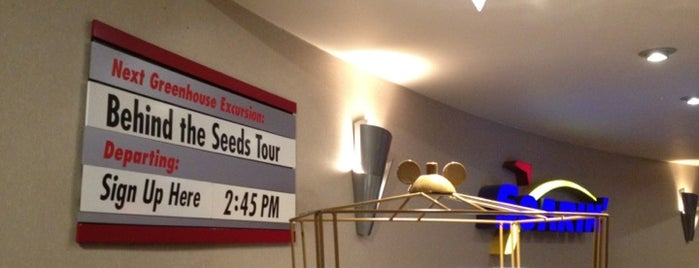 Behind The Seeds Tour is one of Walt Disney World - Epcot.
