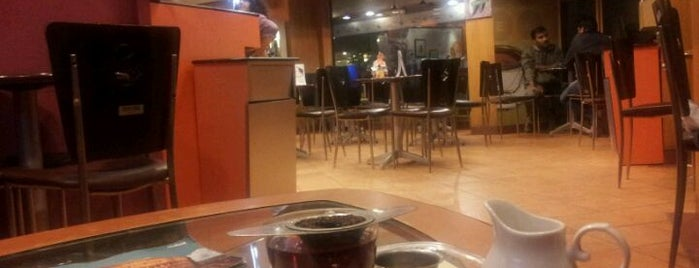 Barista Lavazza is one of Cafés.