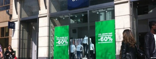 Gap is one of Paris, FR.