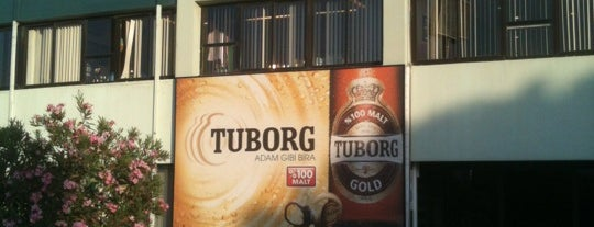 Tuborg Bira Fabrikası is one of themaraton.