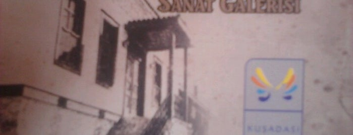 İbramaki Sanat Galerisi is one of Kuşadası ...