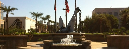 Wesley Bolin Memorial Plaza is one of PHX Parks in The Valley.