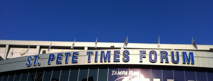 Amalie Arena is one of Tampa Attractions.