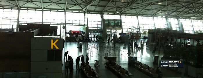 Incheon International Airport (ICN) is one of Swarming Places in S.Korea.