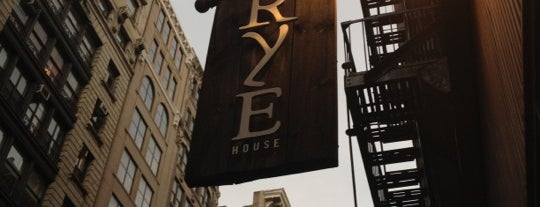 Rye House is one of Bars and speakeasies.