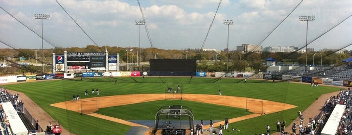 George M Steinbrenner Field is one of Grapefruit League.