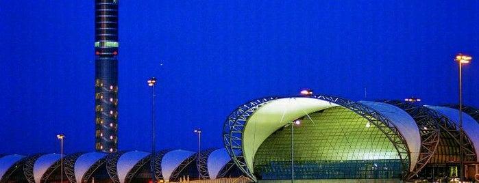 Flughafen Suvarnabhumi (BKK) is one of World Airports.