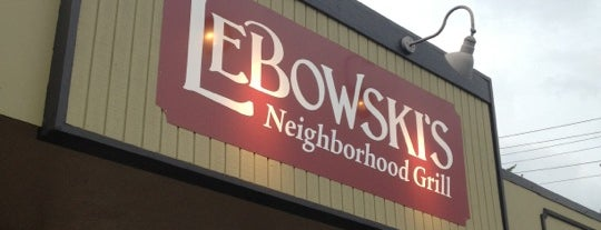 Lebowski's Neighborhood Grill is one of Charlotte's Best Burgers - 2012.