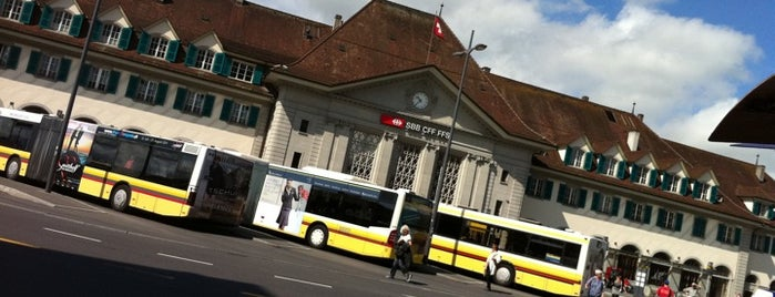 Bahnhof Thun is one of My Switzerland Trip'11.