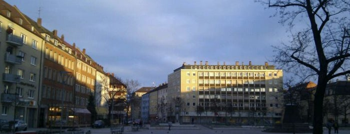 Aufseßplatz is one of Nürnberg, Deutschland (Nuremberg, Germany).