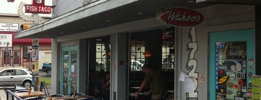 Wahoo's Fish Taco is one of Must-visit Food in Austin.