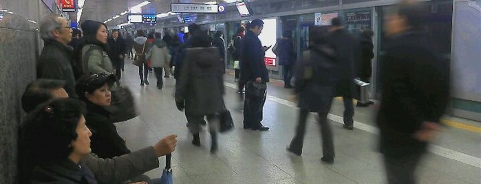 Gangdong Stn. is one of Subway Stations in Seoul(line5~9).