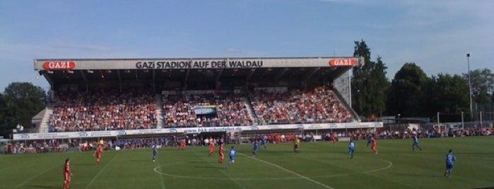 GAZi-Stadion auf der Waldau is one of Best Stadiums.