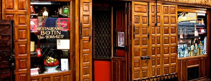 Restaurante Botín is one of Restaurantes en Madrid.