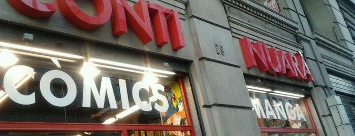 Continuarà Còmics is one of Tiendas de cómics, rol & merchan, en Barcelona.