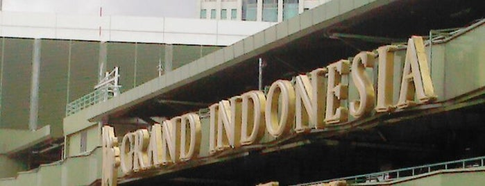 Grand Indonesia Shopping Town is one of Great Jakarta.