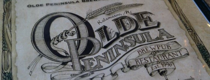 Olde Peninsula Brewpub & Restaurant is one of Michigan Breweries.