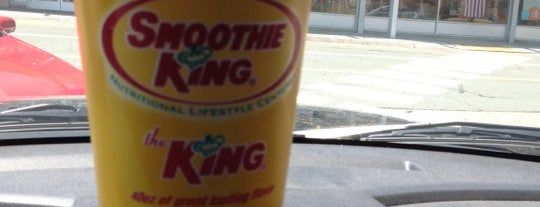 Smoothie King is one of Frequent Places.