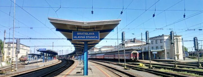 Bratislava Central Station is one of Terminais!.