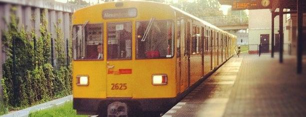 U Hellersdorf is one of U-Bahn Berlin.