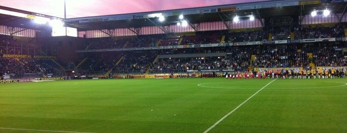 Rat Verlegh Stadion is one of Favo.