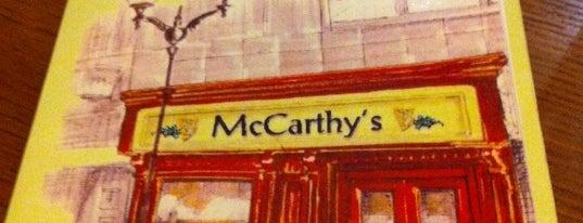 McCarthy's is one of Ruta de la Tapa Triana Siente.