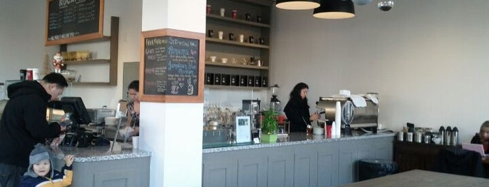 Rocanini Coffee Roasters is one of West Vancouver Restaurants.