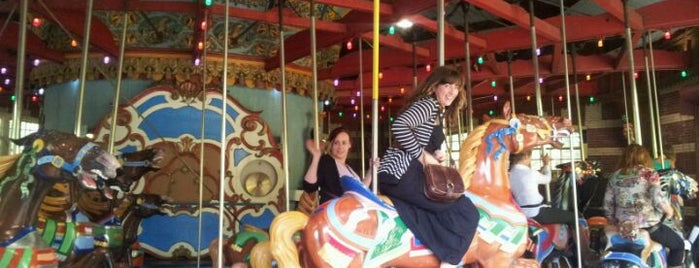 Central Park Carousel is one of Park Highlights of NYC.