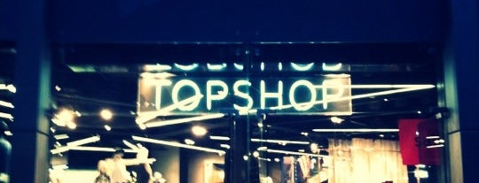 Topshop is one of My top five high street brands..