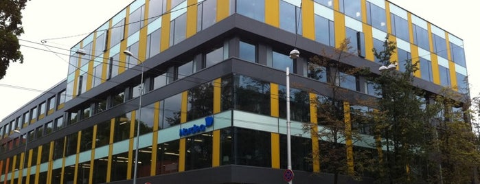 Nordea Latvia Head Office is one of Foursquare LV BrandPages HQ.