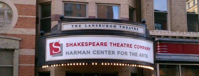 Shakespeare Theatre Company - Lansburgh Theatre is one of Theatres for Dance Arts.