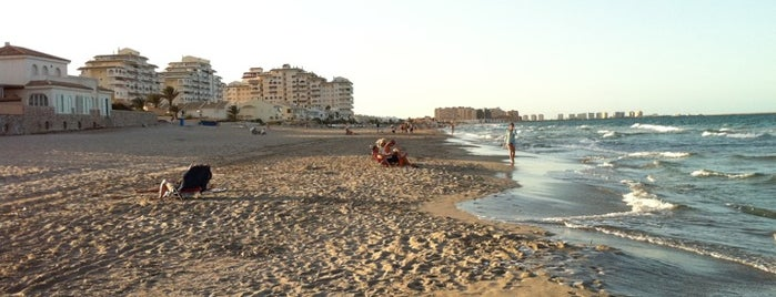 Mar Mayor La Manga is one of Playas.