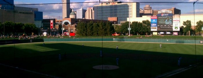 Victory Field is one of Exploring Indy #4sqCities #VisitUS.